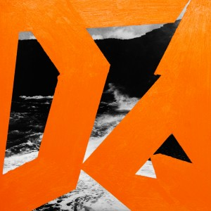 Sans titre, orange de cadmium